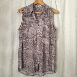 Express Portofino Sleeveless Shirt / Blouse